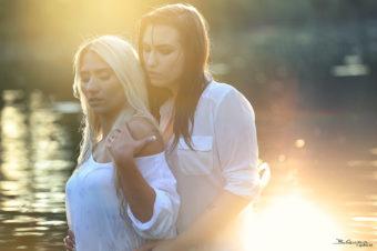 Lena Zeqiri und Ela Jasmina